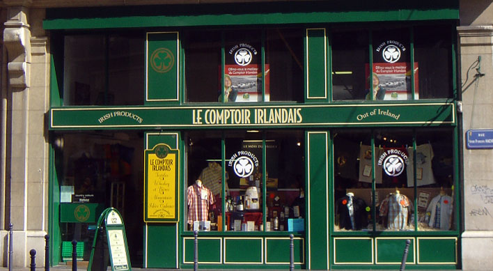 Grenoble le comptoir irlandais - Le comptoir de l ancienne ...