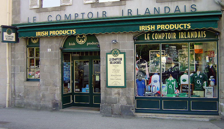 quimper le comptoir irlandais. Black Bedroom Furniture Sets. Home Design Ideas