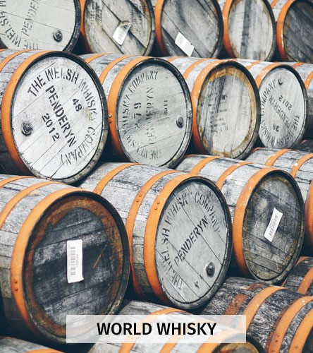 Whisky from the world