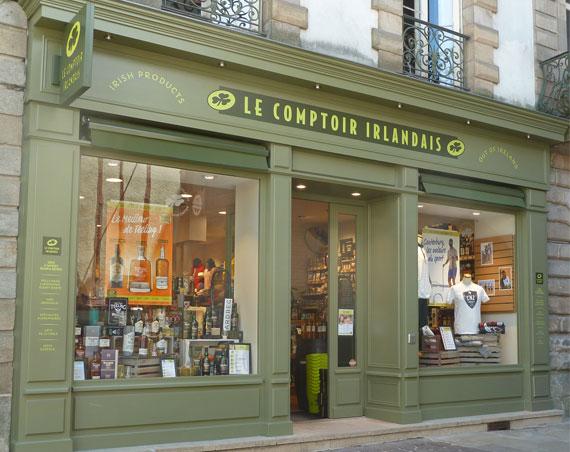 Ouvrir votre boutique Le Comptoir Irlandais