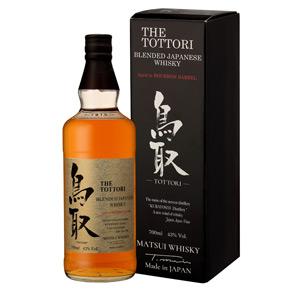The Tottori Blended Japanese Whisky Bourbon Barrel