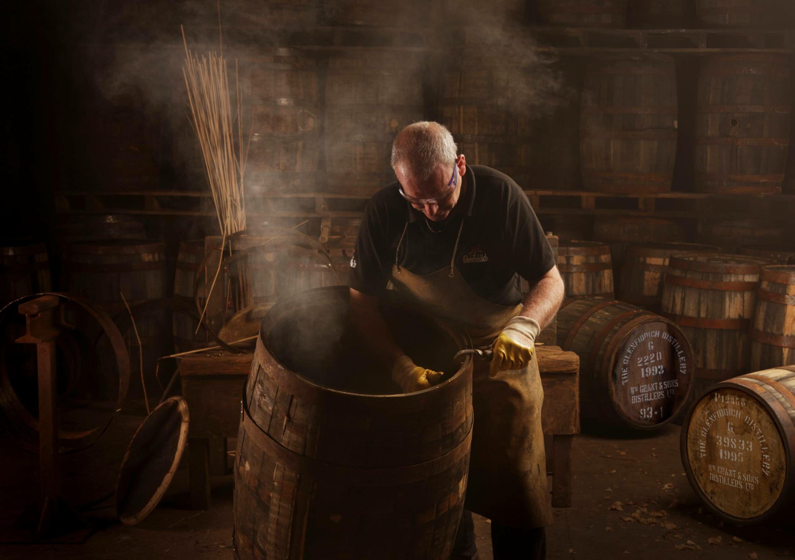 Glenfiddich casks