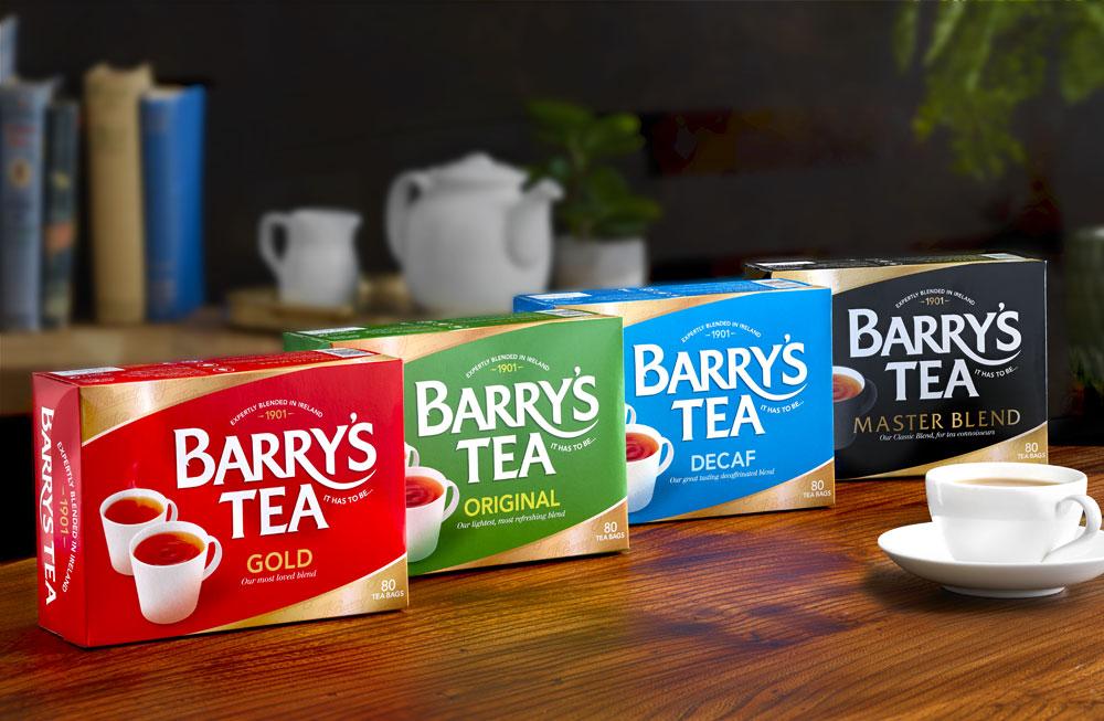 Gamme Barry's Tea