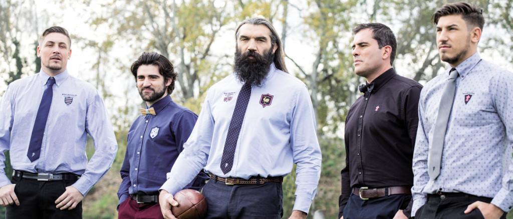 Ruckfield v tements de rugby sign s s bastien chabal le comptoir irlandais - Comptoir irlandais vente en ligne ...