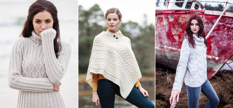 De l intemporel au fashion porter le pull aran - Comptoir irlandais vente en ligne ...